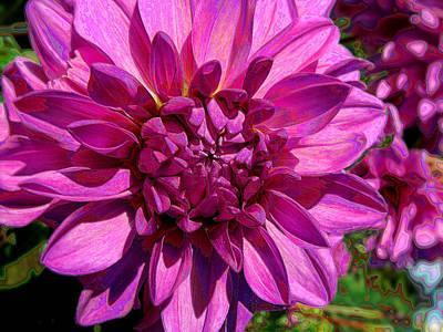Dahlia Describes The Color Pink Poster