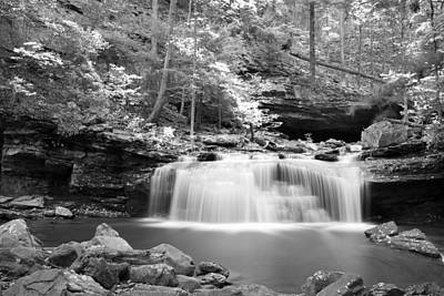 Dainty Waterfall Poster