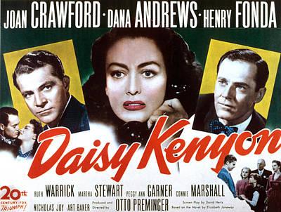 Daisy Kenyon, Dana Andrews, Joan Poster by Everett