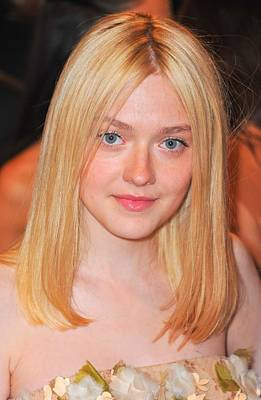 Dakota Fanning At Arrivals Poster