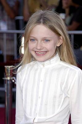 Dakota Fanning At Arrivals For Premiere Poster