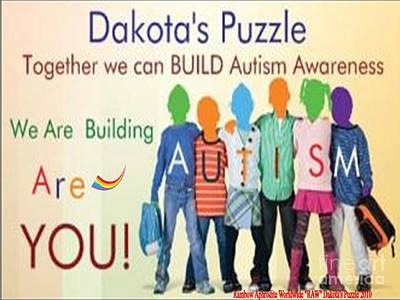Dakotas Puzzle Raw Poster by Catherine Herbert