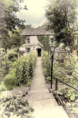 Poster featuring the photograph Dales Cottage Yorkshire by Jack Torcello
