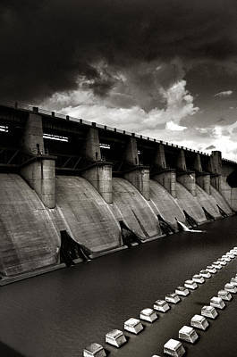 Poster featuring the photograph Dam-it by Brian Duram