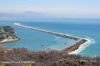 Poster featuring the photograph Dana Point California 9-1-12 by Clayton Bruster