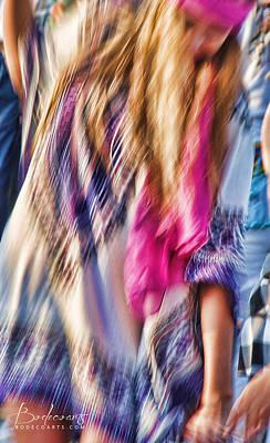 Dancing Hippie Poster