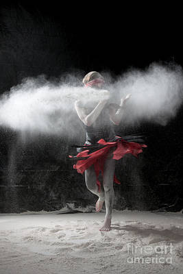 Dancing In Flour Series Poster