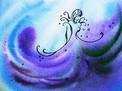 Dancing Water II Poster by Irina Sztukowski