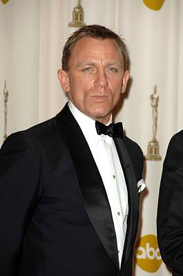 Daniel Craig In The Press Room For 81st Poster