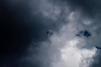 Dark Bubble Poster
