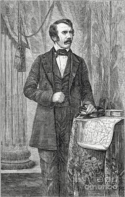 David Livingston, Scottish Missionary Poster