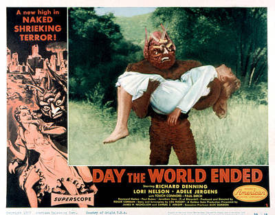 Day The World Ended, The, Lori Nelson Poster