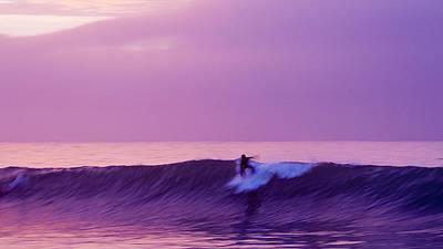 Daybreak At Rincon Poster by Ron Regalado