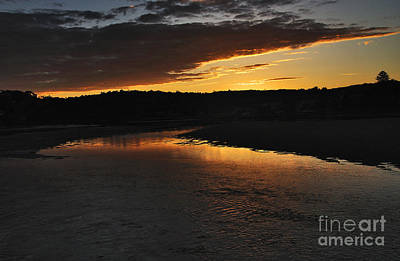 Days End Poster by Kaye Menner