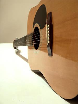 De Chirico's Guitar Poster by Alessandro Della Pietra
