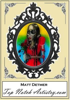 Dead Girl Poster by Matt Detmer