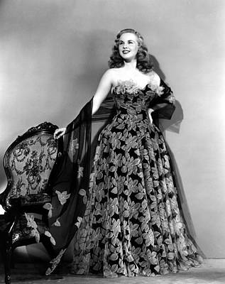 Deanna Durbin In Hoop Skirt Styled Lace Poster