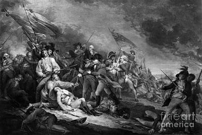 Death Of General Warren, 1775 Poster by Omikron