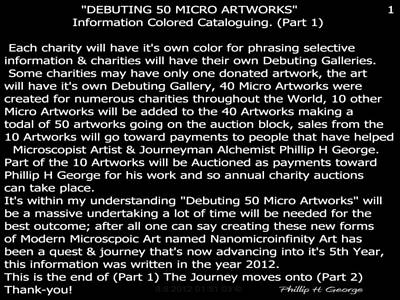 Debuting 50 Micro Artworks Part 1  Poster by Phillip H George