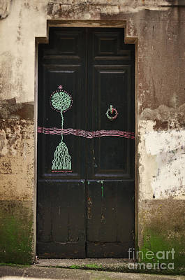 Decorated Door Poster by Mary Machare