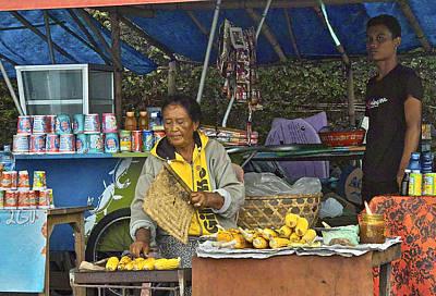 Delicious Corn - Bali Poster by Jocelyn Kahawai