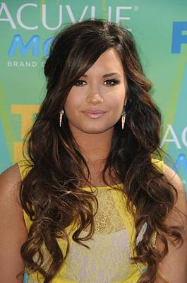 Demi Lovato At Arrivals For 2011 Teen Poster by Everett