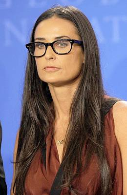 Demi Moore In Attendance For Annual Poster