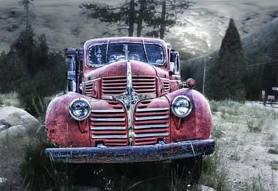 Derelict Dodge Poster