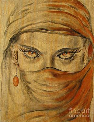 Desert Amber Poster