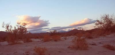 Desert And Sky Poster