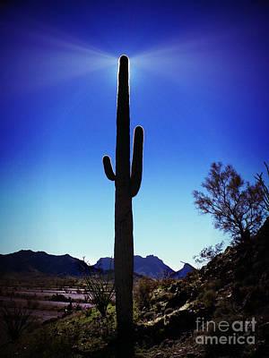 Desert Beacon Poster