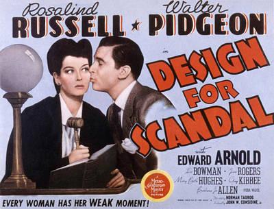Design For Scandal, Rosalind Russell Poster
