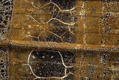 Detail Of Burnt Building Poster