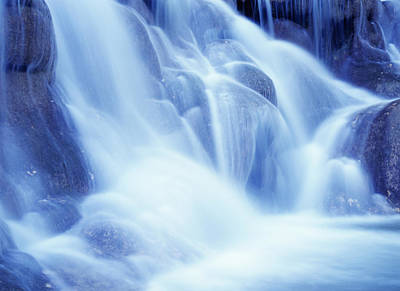 Detail Of Dunns River Falls Poster by Axiom Photographic