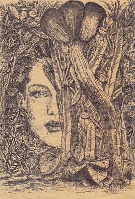 Deusa Da Selva Poster by Buck Buchheister