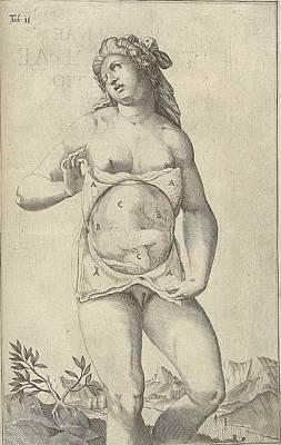 Development Of The Fetus. Female Figure Poster by Everett