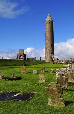 Devenish Monastic Site, Co. Fermanagh Poster by The Irish Image Collection