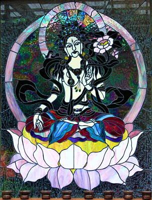 Devi Shakti Goddess Poster by Karon Melillo DeVega