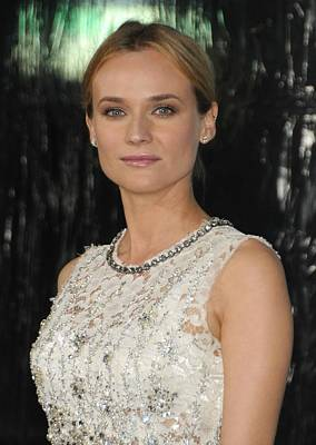 Diane Kruger At Arrivals For Unknown Poster by Everett