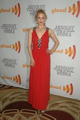 Dianna Agron At Arrivals For 21st Poster by Everett