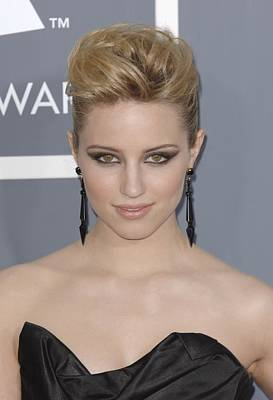 Dianna Agron At Arrivals For The 53rd Poster by Everett