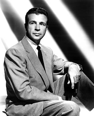 Dick Powell, Portrait Poster by Everett