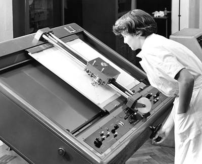 Differential Analyser, 1954 Poster by National Physical Laboratory (c) Crown Copyright