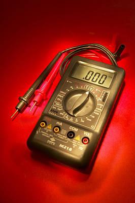 Digital Multimeter Poster by Mark Sykes