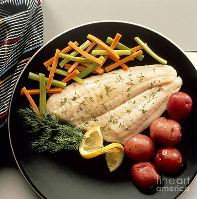 Dilled Fish Fillet Poster