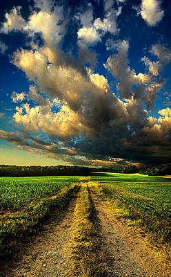 Dirt Road Poster by Phil Koch