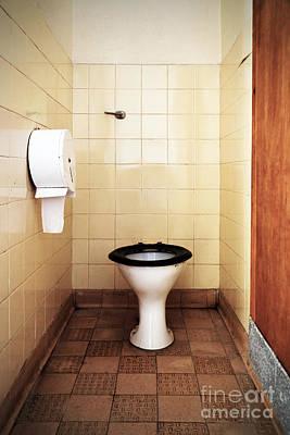 Dirty Public Toilet Poster by Richard Thomas