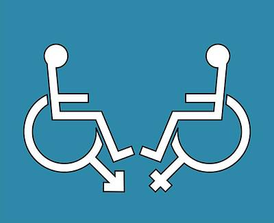 Disability Sexuality, Conceptual Artwork Poster by Stephen Wood