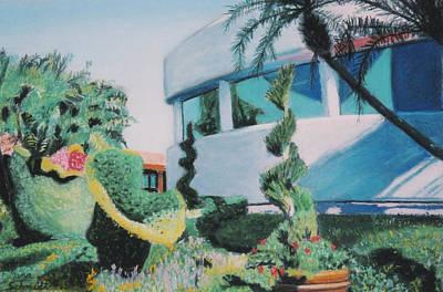 Disney Epcot Topiary Poster