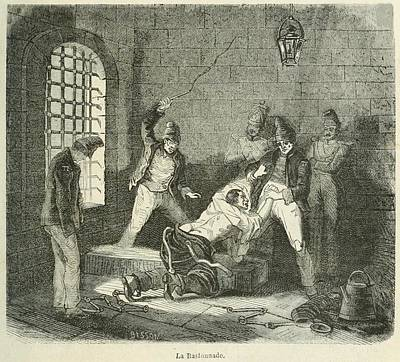 Disorderly Prisoner Is Punished Poster by Everett